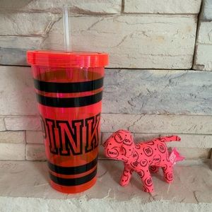 Limited Edition New Pink cup with dog